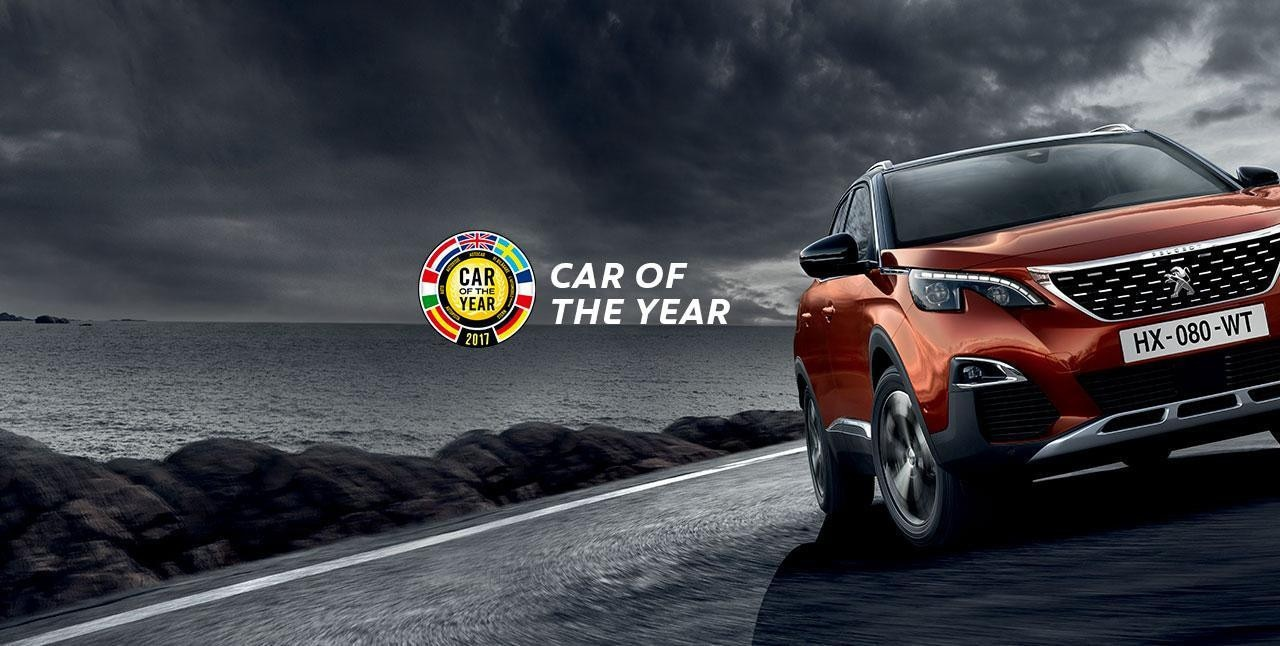 Nouveau PEUGEOT 3008 SUV - Car of the Year