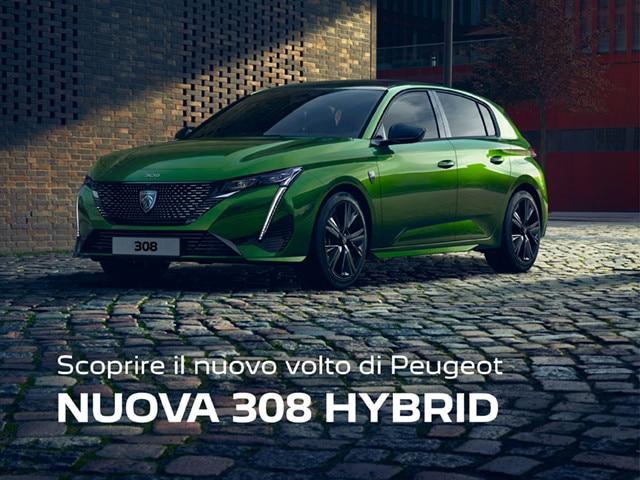 Nuova 308 Hybrid