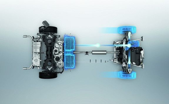 Nouvelle berline PEUGEOT 508 HYBRID - Batterie lithium-ION en mode 100% électrique