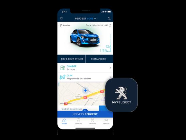 Visuel MyPeugeot App