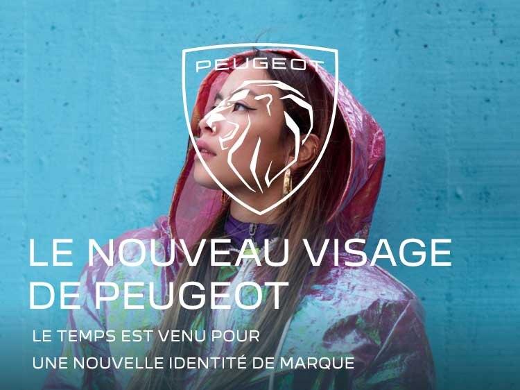 PEUGEOT - LE NOUVEAU VISAGE DE PEUGEOT