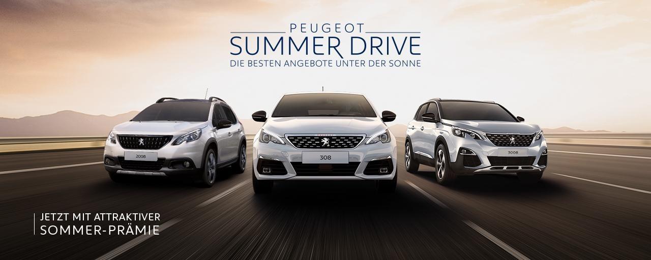 PEUGEOT SUMMER DRIVE RANGE