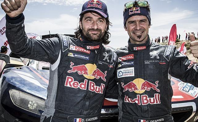 Aventuriers Dakar 2017 – Despres et Castera à la 3ème place du classement