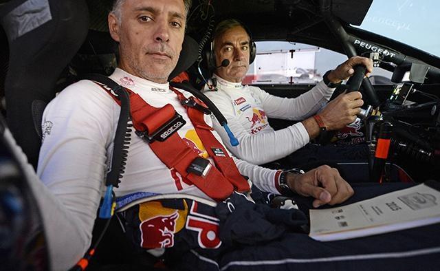 Aventuriers Dakar 2017 – Sainz et Cruz participants du rallye