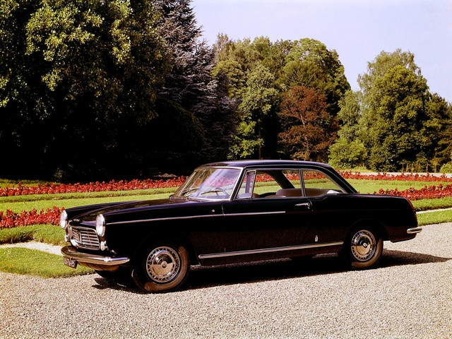 L'automobile - Peugeot 404 Coupé