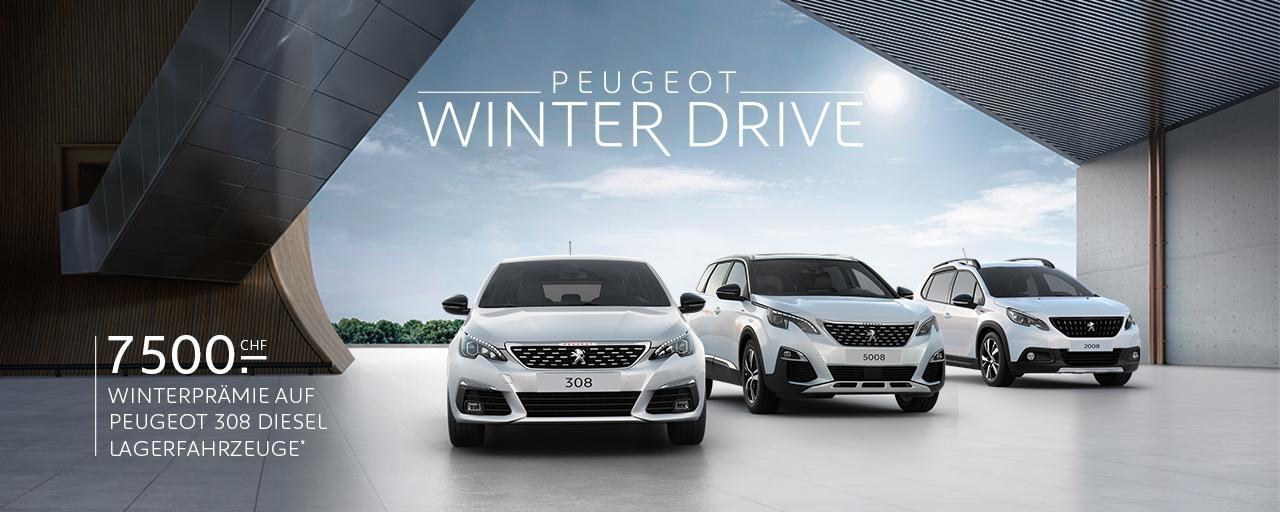 PEUGEOT RANGE WINTER