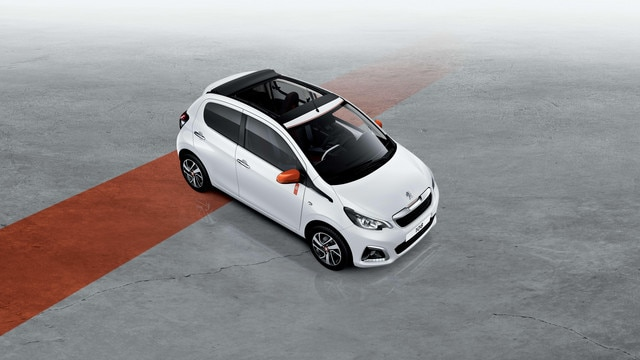 PEUGEOT 108 TOP – version Roland Garros