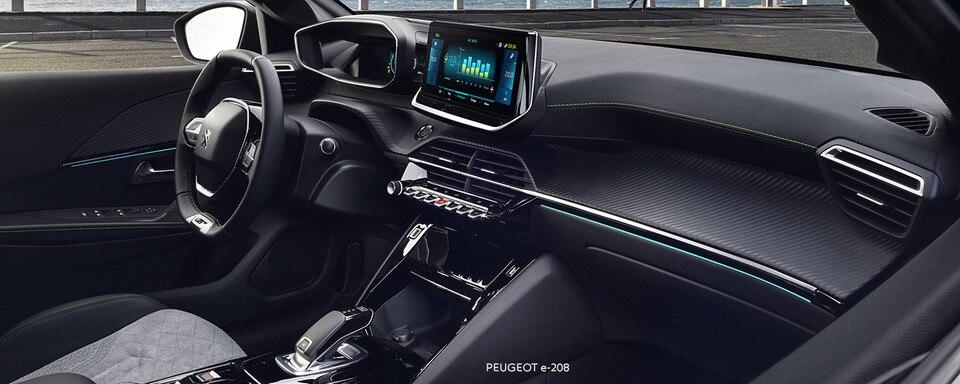 NOUVELLE PEUGEOT e-208 – NOUVEAU PEUGEOT i-Cockpit® 3D