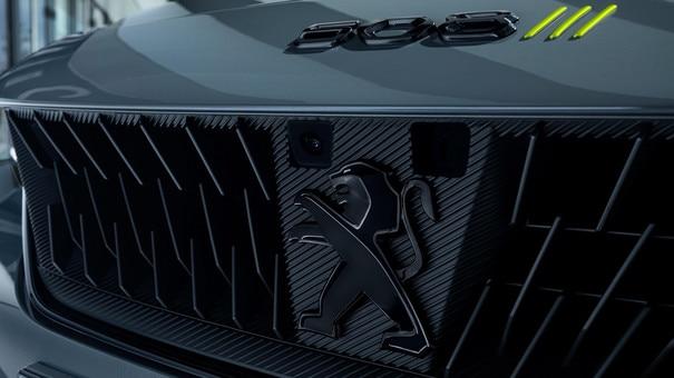 Nouveau 508 SW PEUGEOT SPORT ENGINEERED : nouvelle calandre surmontée de la signature 3 griffes Kryptonique