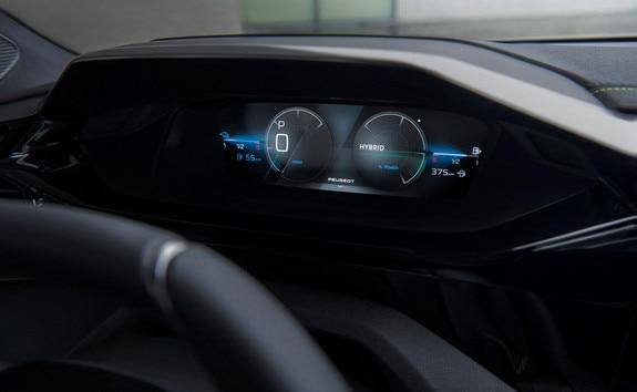 Nouvelle PEUGEOT 308 SW - Combiné digital 3D