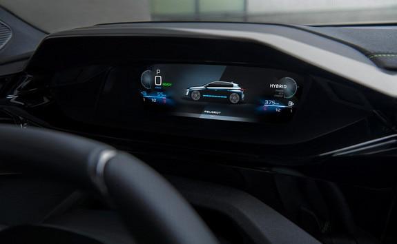 Nouvelle PEUGEOT 308 – Combiné 3D