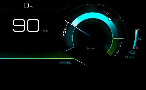 SUV PEUGEOT 3008 HYBRID4 - Mode Hybrid
