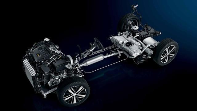 Plateforme EMP2 Peugeot 3008