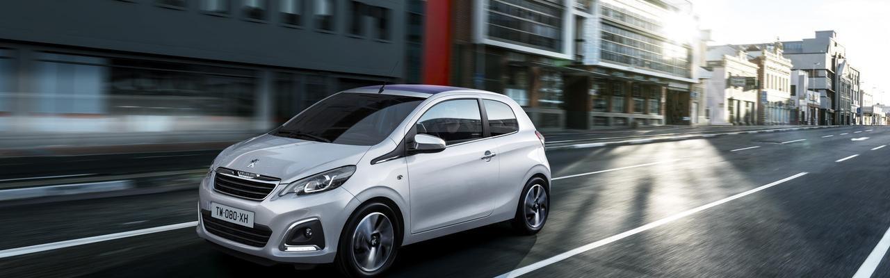 Les Citadines Peugeot