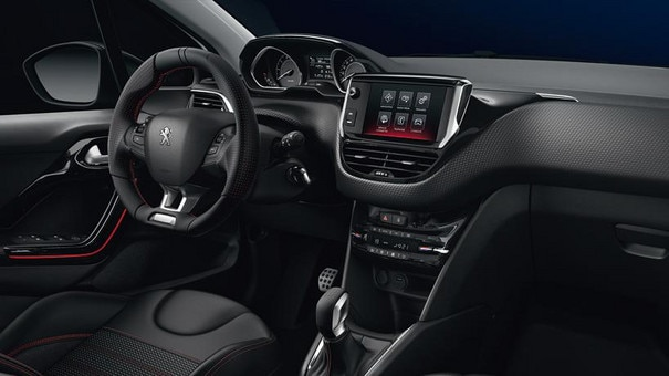 Der peugeot 208 gt line by peugeot for Interieur 3008 allure